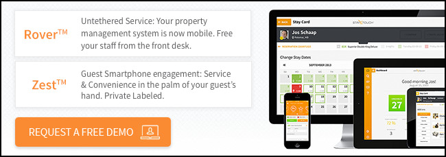 Sign up for a free demo of our mobile PMS and see how you can flexibility and efficiently run services and hotel operations.