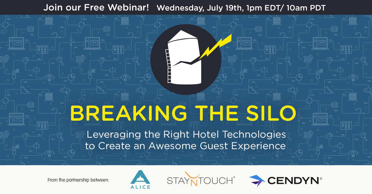 Free webinar: Breaking the Silo - Leveraging the Right Hotel Technologies to Create an Awesome Guest Experience