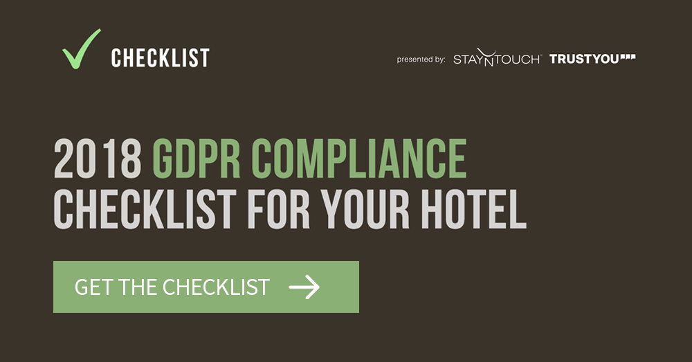 2018 Hotel GDPR Checklist for Your Hotel