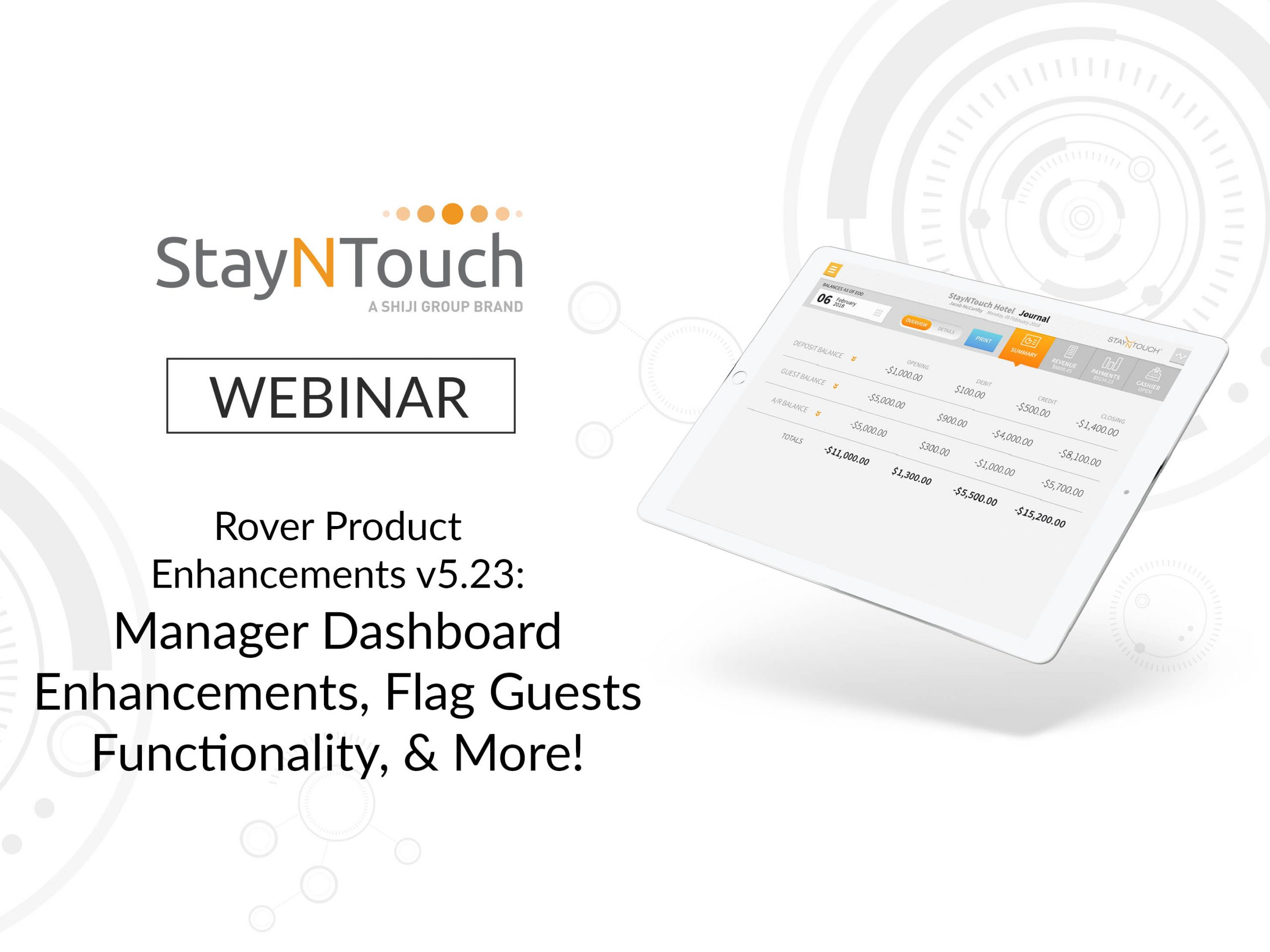 Rover Product Enhancements v5.23: Manager Dashboard Enhancements, Flag Guests Functionality, & More!
