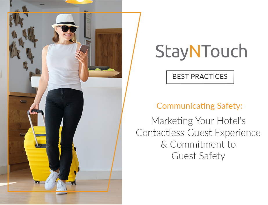 Marketing your Hotel's Contactless Guest Experience and Commitment to Guest Safety