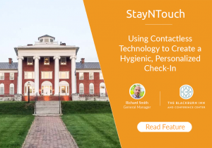 The Blackburn Inn & Conference Center: Using Contactless Technology to Create a Hygienic, Personalized Check-In