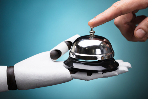Are hotels losing the human touch when integrating technology into service?